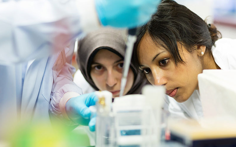Learners on the short course: Essential Lab Skills and Molecular Biology Techniques Workshop: from Theory to Bench July 2016.