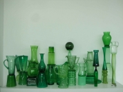 Green Green Glass of Home (after Morandi),