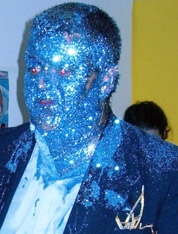 David Burrows, Glitter Portrait