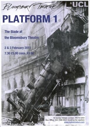 Platform 1: Bloomsbury Theatre