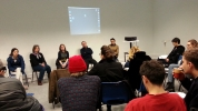 Slade Performance Day 2013, panel discussion on time in relation to performance