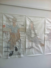 Paintings made at the Slade School of Fine Art