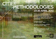 <p>Inaugurated in 2009, Cities Methodologies is a pan-UCL initiative to showcase innovative methods of urban research.</p>
