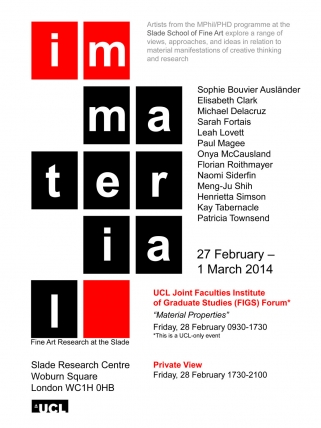 Immaterial Flyer