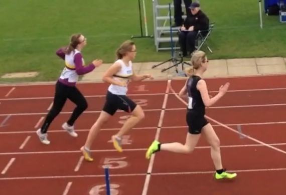 Penny Andrews: Winning the 100m National Championships for Cerebral Palsy athletes in 2013