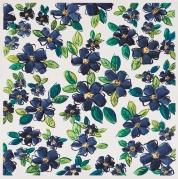 Flowers (blue)