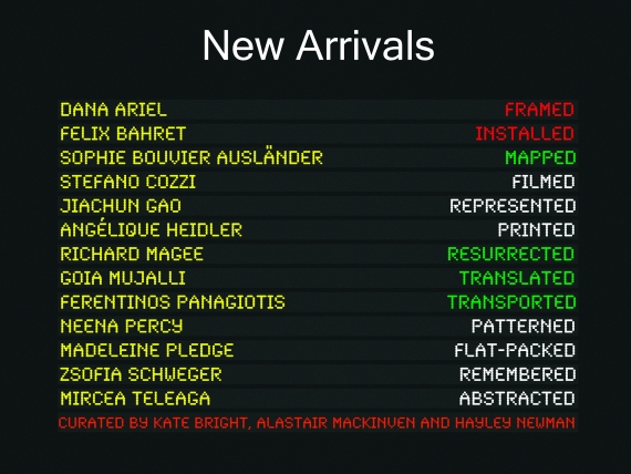 New Arrivals Poster