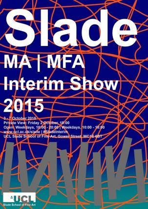 Interim Show Poster 2015
