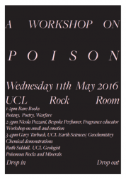 "<p>A pop-up exhibition of work, experiments and presentations by students from the Slade School of Fine Art on Friday 13 May 2016, part of the ongoing <a href=""http://www.ucl.ac.uk/slade/research/index/rock-room-project"" target=""_self"">Rock Room Project</a>.</p>"