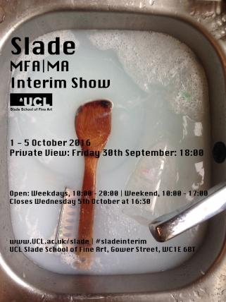 Slade Interim Show 2016