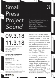 Small Press Project Flyer
