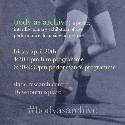 Body as Archive