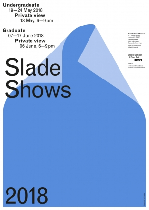 Degree Show Poster 2018