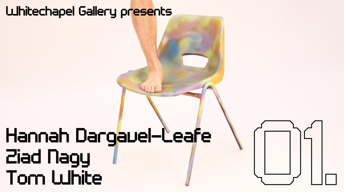 Hannah Dargavel-Leafe, Ziad Nagy and Tom White 01 - Whitechapel Gallery
