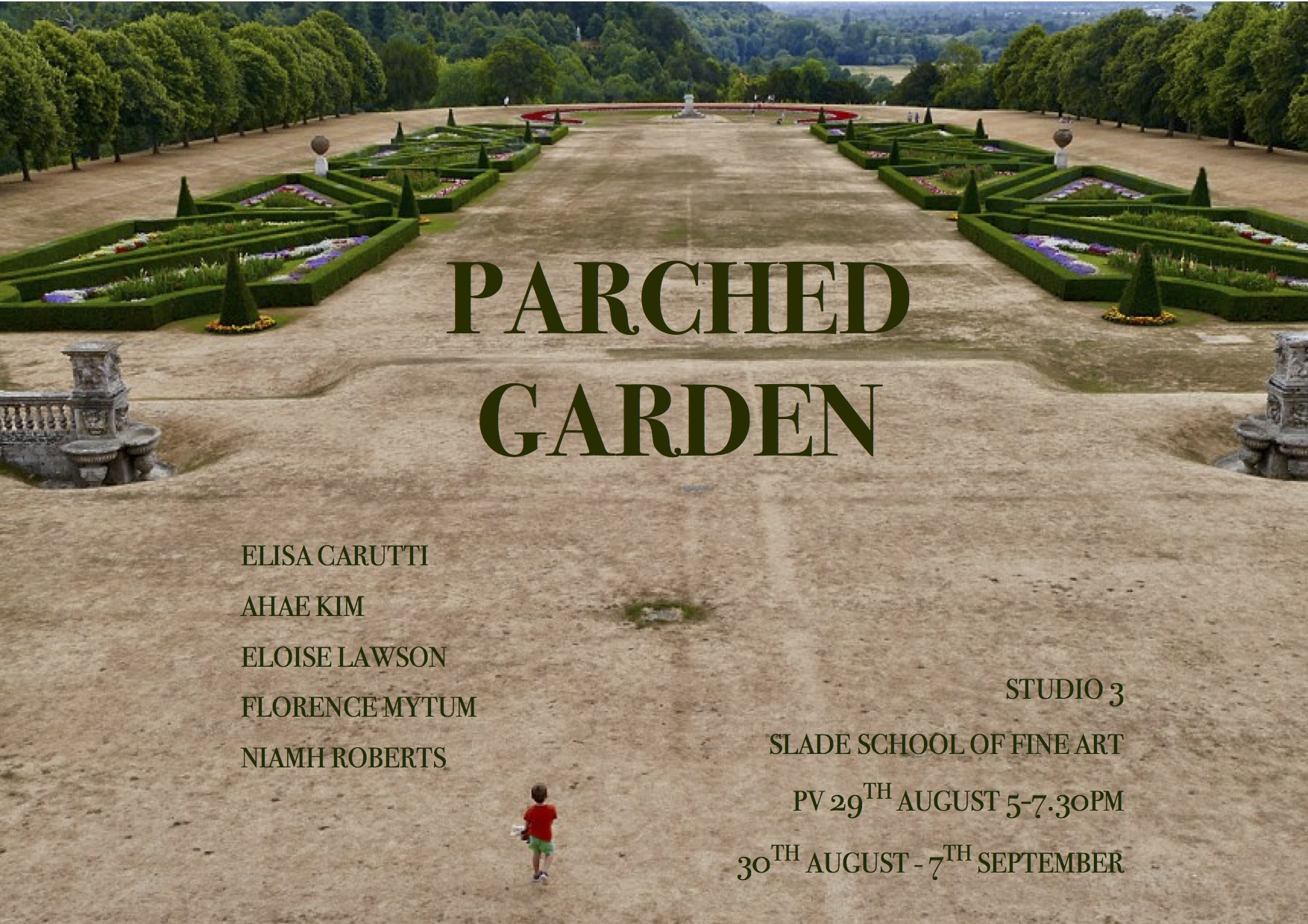 Parched Garden - Slade School of Fine Art