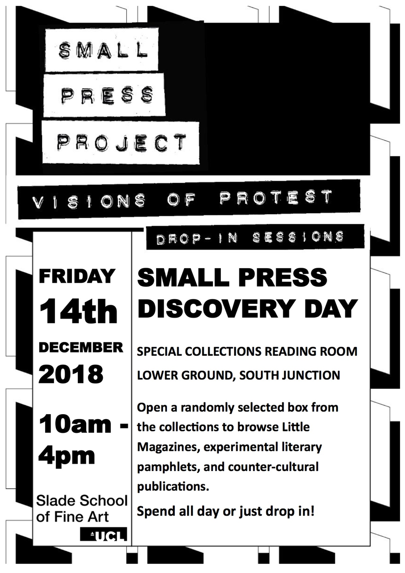 Small Press Discovery Day - UCL