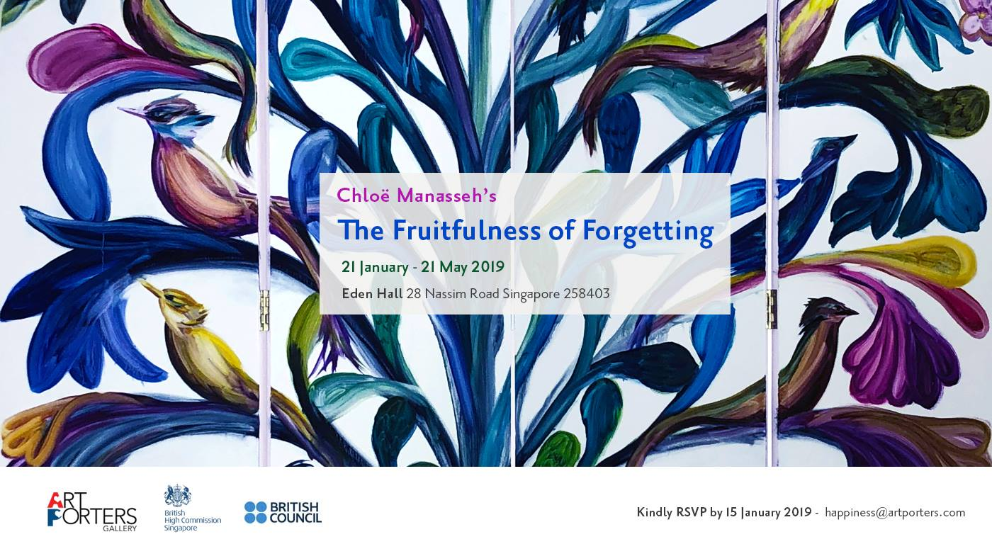 The Fruitfulness of Forgetting - Eden Hall, Singapore
