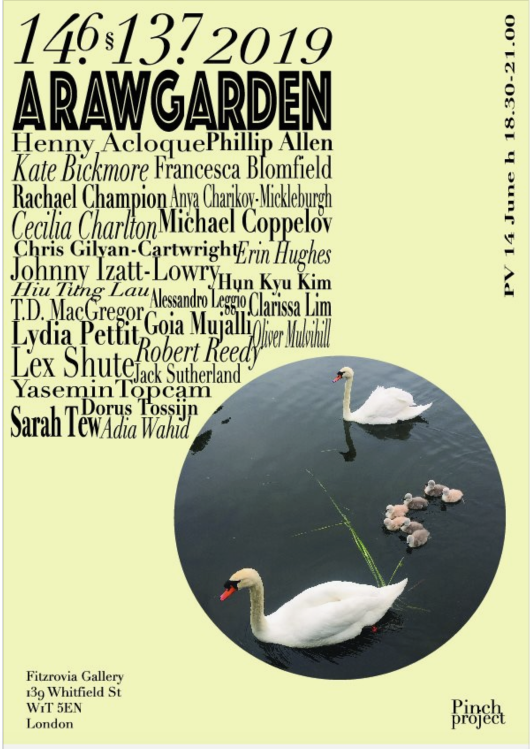 A RAW Garden - The Fitzrovia Gallery