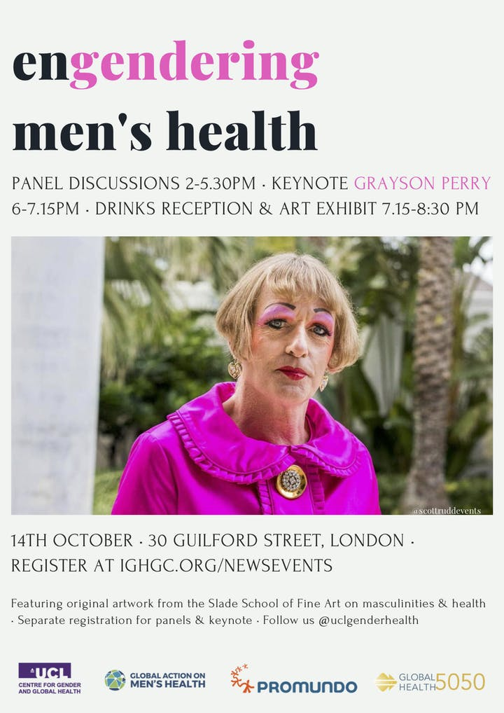Engendering Men's Health with Grayson Perry