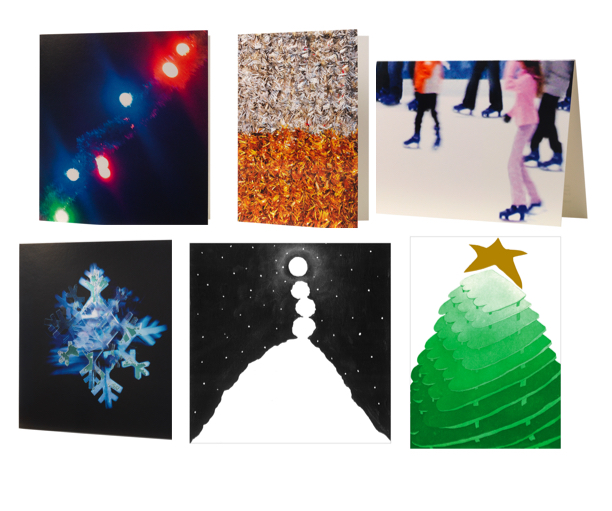 Slade students design Tate Christmas Cards