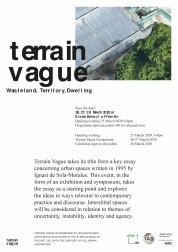 Terrain Vague Poster