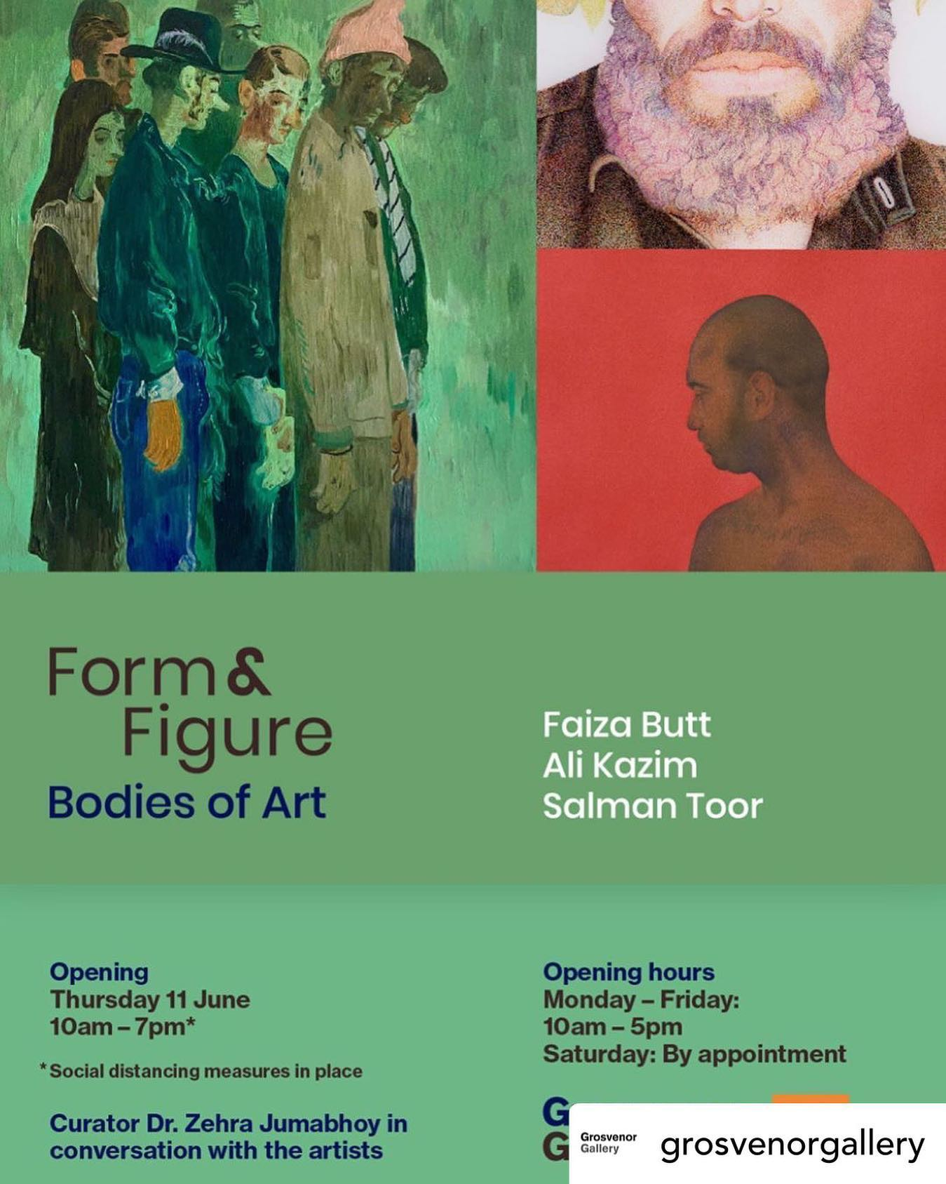 Form & Figure: Bodies in Art - Grosvenor Gallery