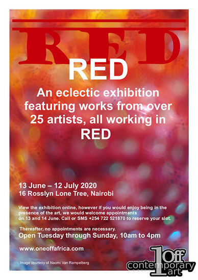 Red - One Off Gallery, Nairobi