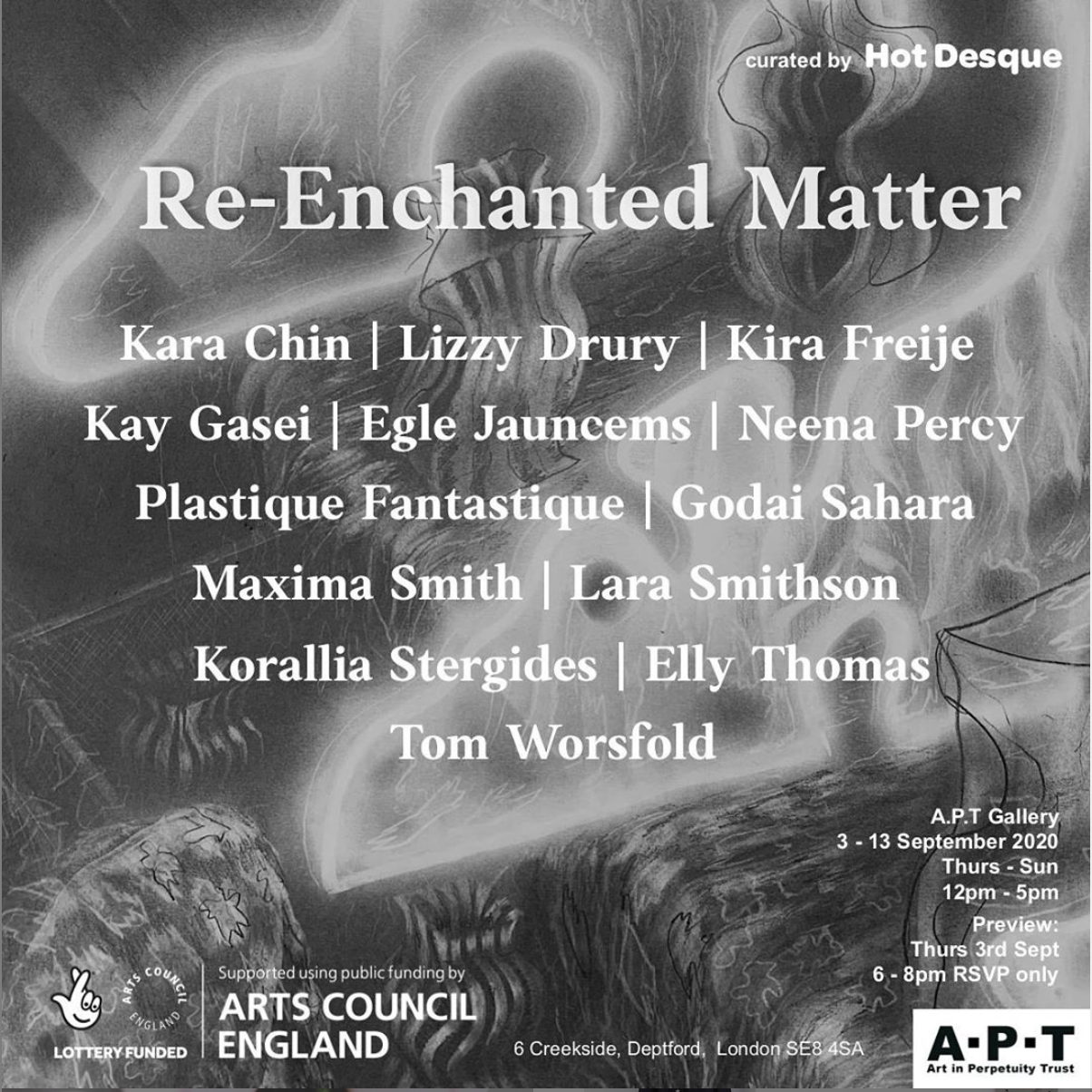 Re: Enchanted Matter - APT Gallery