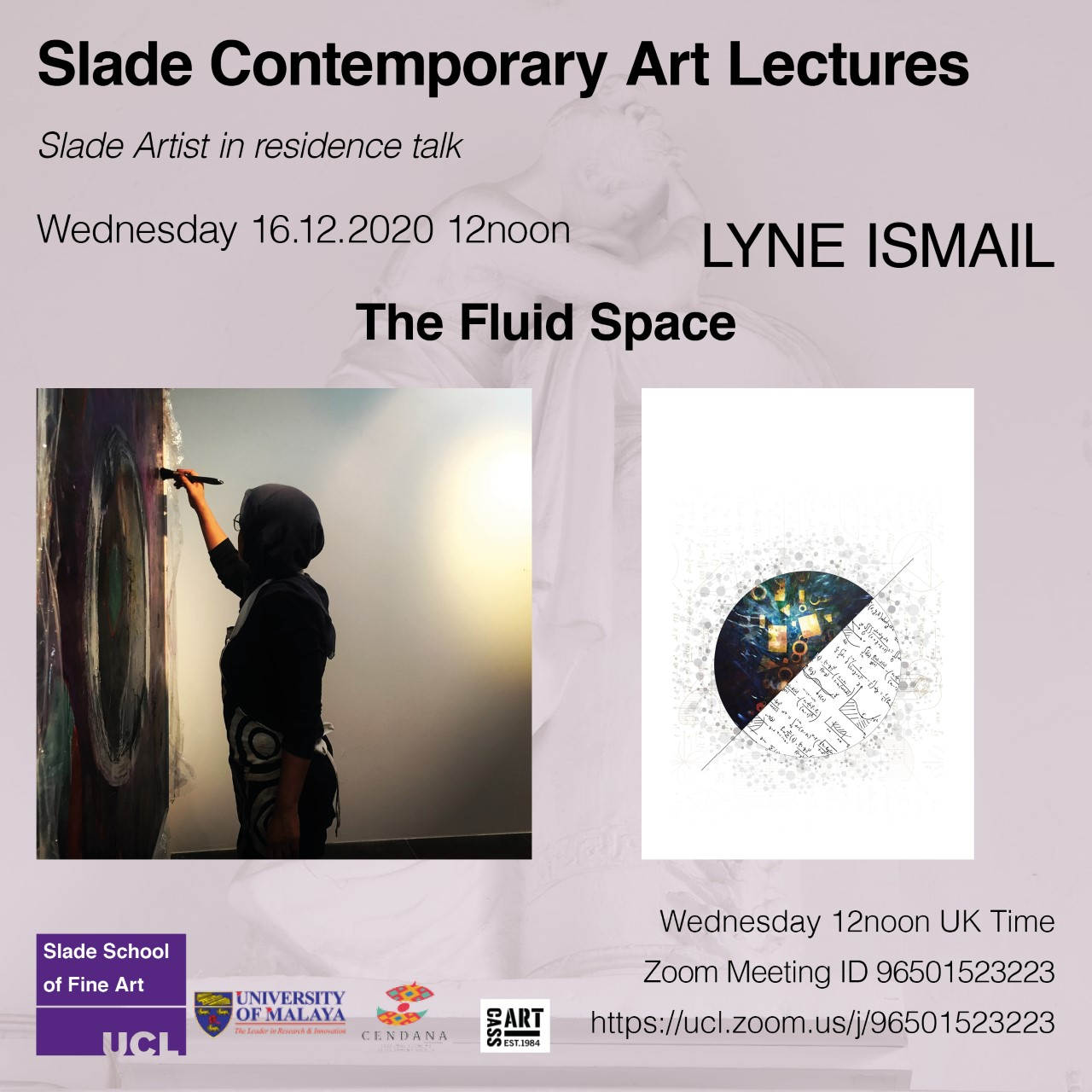 Contemporary Art Lecture with Lyne Ismail