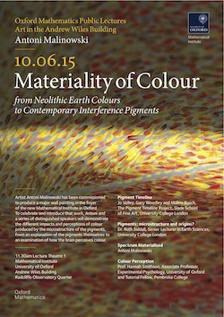 Symposium: Materiality of Colour - Oxford