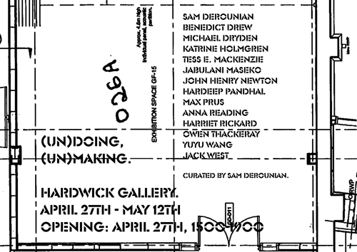 (Un)doing, (Un)making - Hardwick Gallery