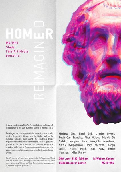 Homer Reimagined - Slade Research Centre, UCL
