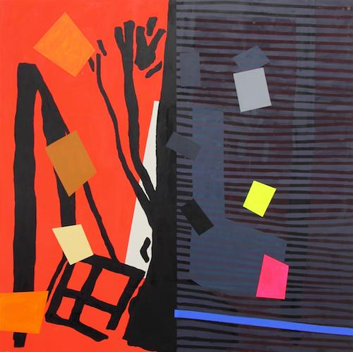 A Hot Sunset and Shade Paintings - Bernard Jacobson Gallery