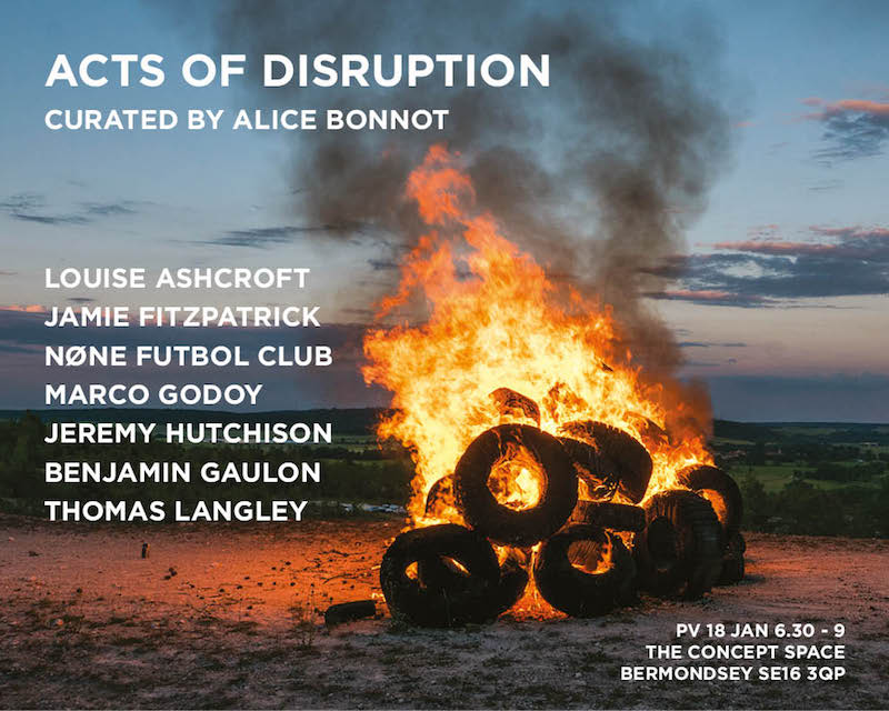Acts of disruption - The Concept Space