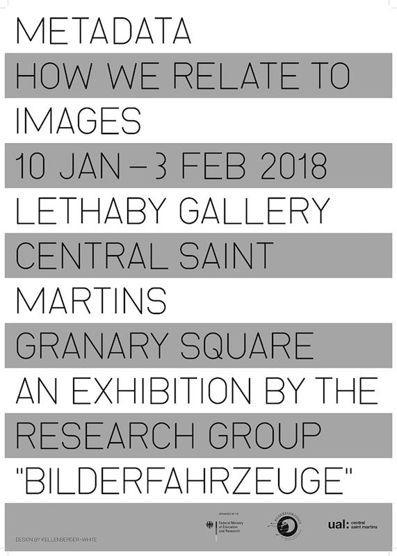 Metadata: how we relate to images - Lethaby Gallery
