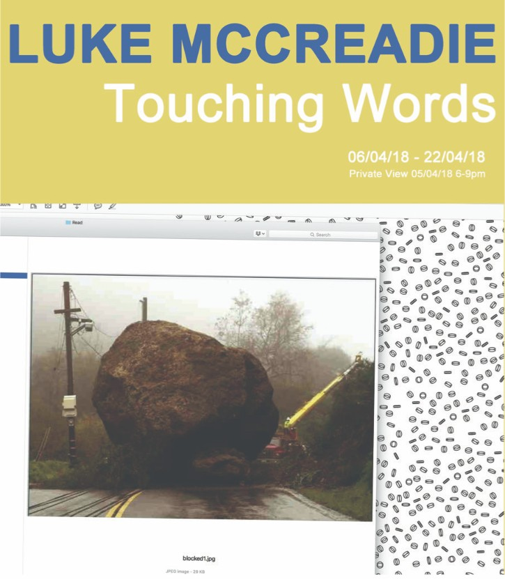 Luke McCreadie - Touching Words