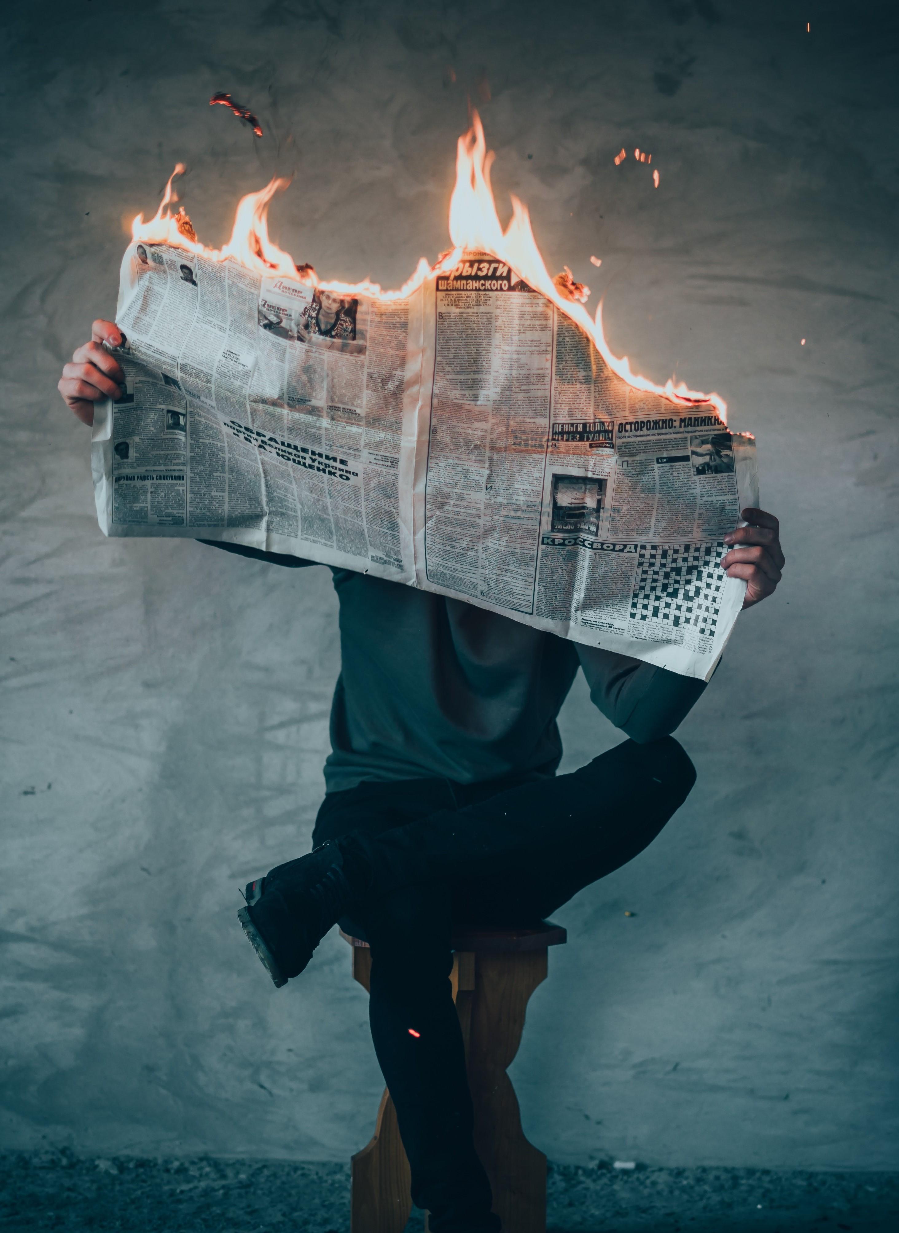 Burning news - politics