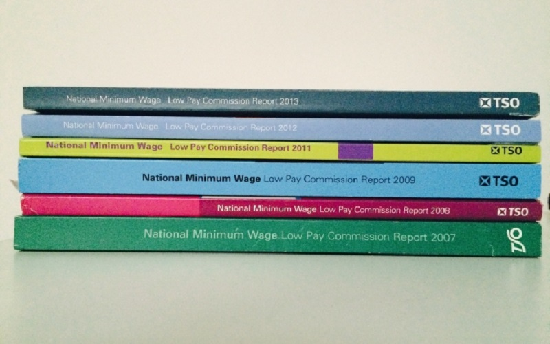 Setting the National Minimum Wage