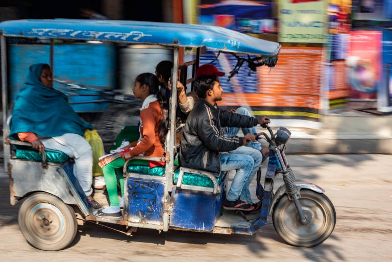 Rickshaws in Delhi's urban margins | © Rohit Madan