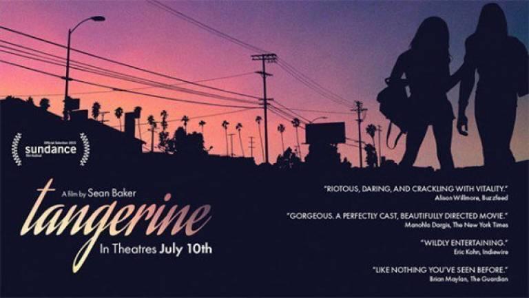 Poster for Tangerine, film by Sean Baker, 2015