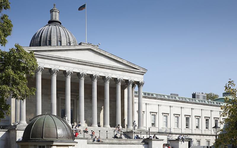 UCL Front Quad building