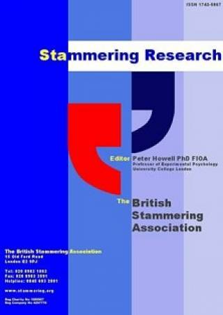 Stammering Research Cover