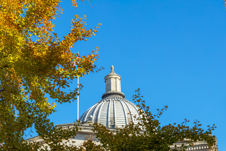 Dome against blue sky