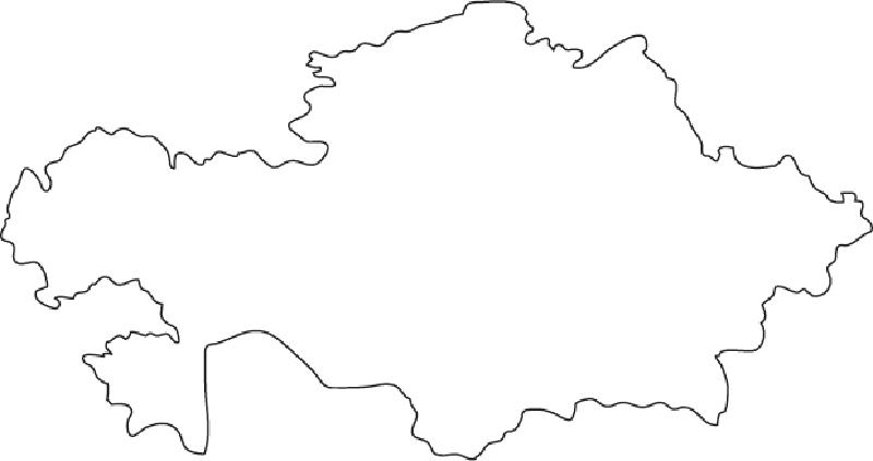 Outline of Kazakhstan