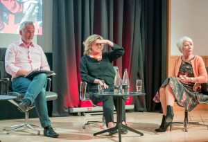 Dame Helen Mirren at 'Emigres of Revolution' panel discussions at British Library…