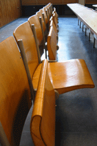 Lecture seating…