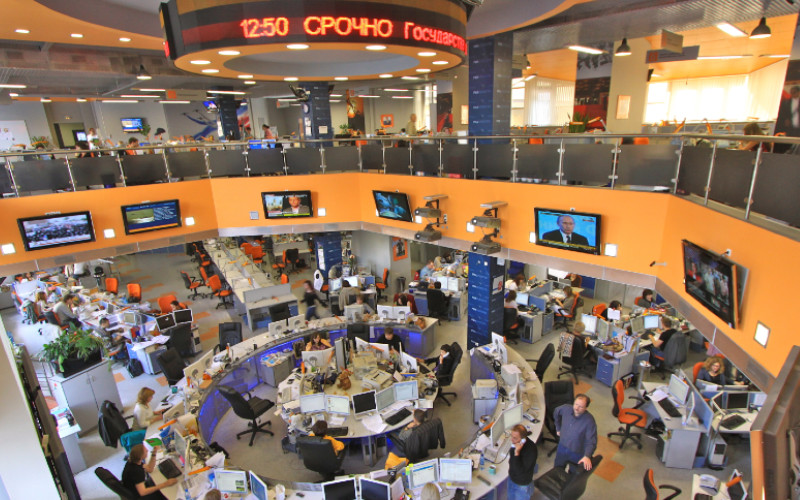 Newsroom Moscow
