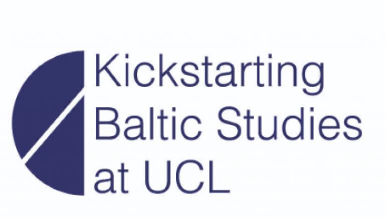 Kickstarting Baltic Studies at UCL