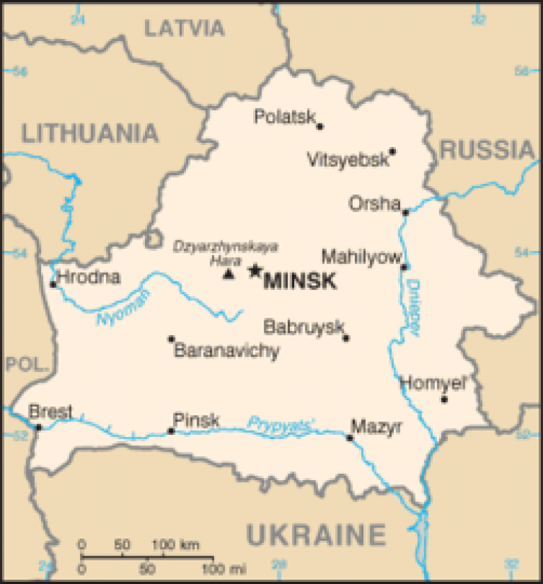 Belarus Map…