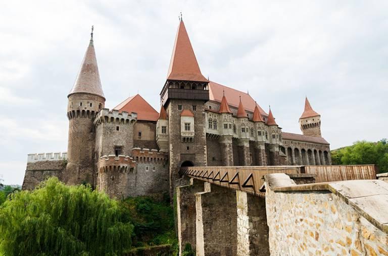 Castle in Transylvania, Romania